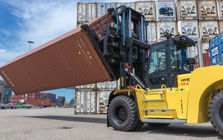 Hyster optimises container repair yard handling