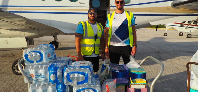 ACS uses empty aircraft to fly in additional aid to the Bahamas
