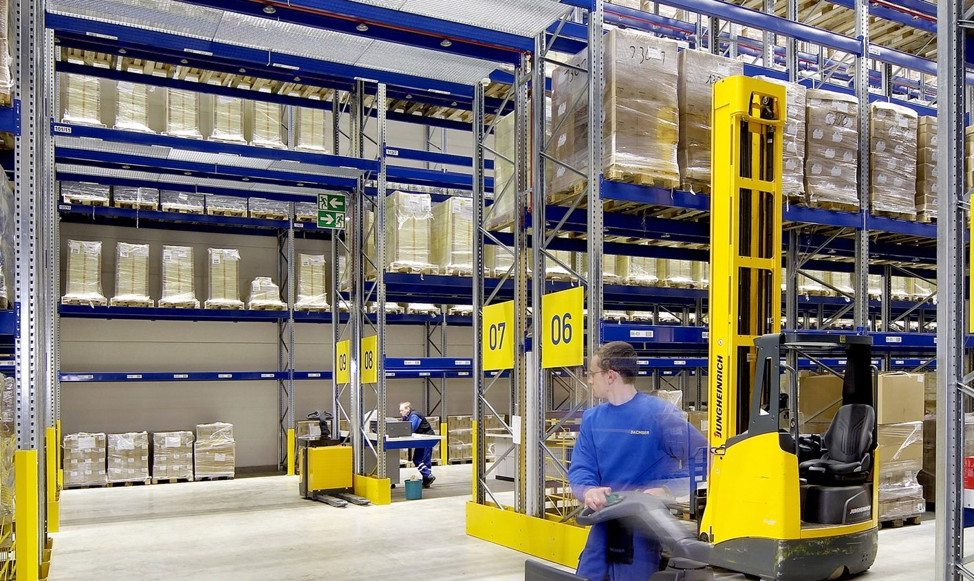 Sustainability in materials handling