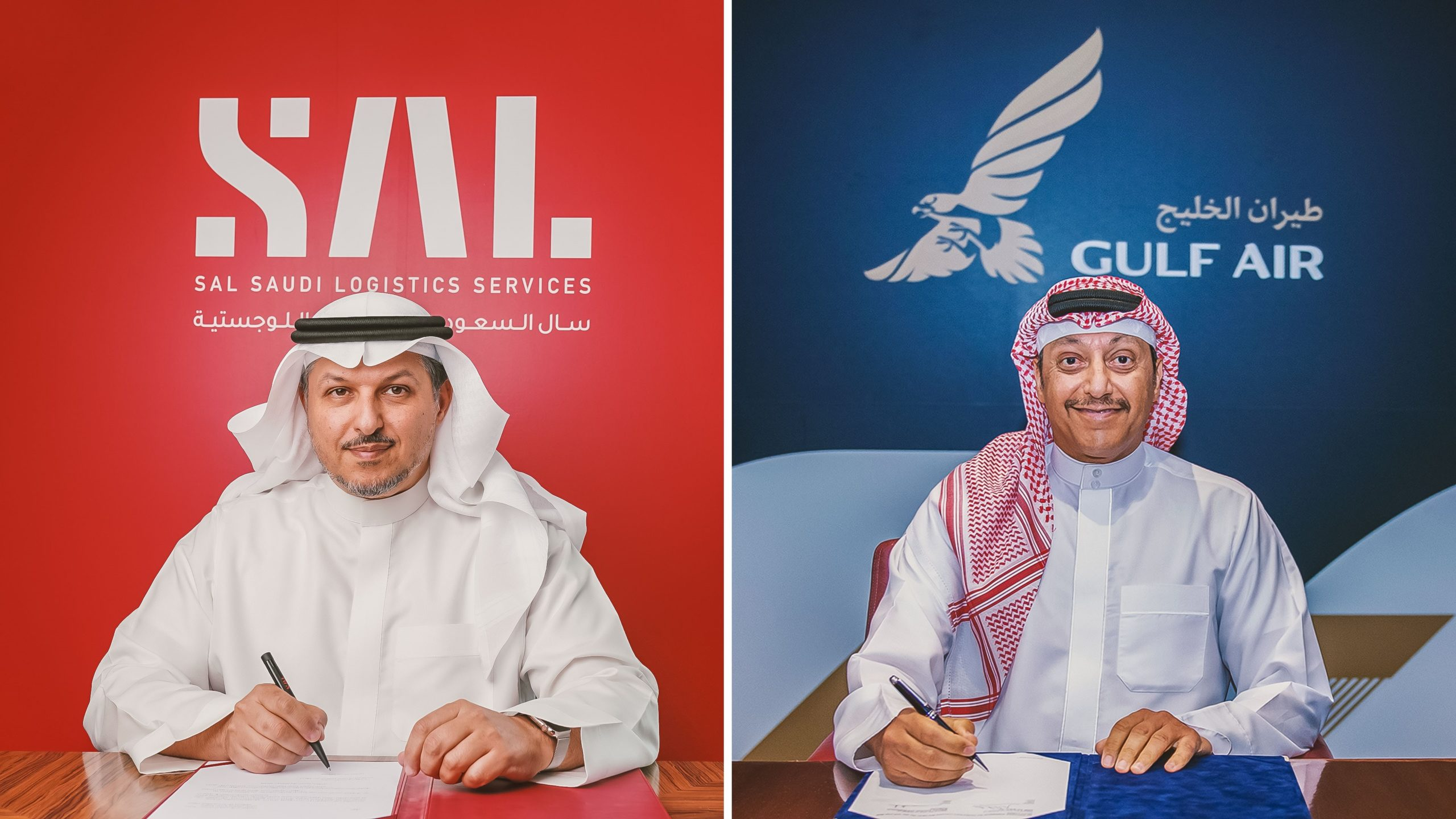 SAL and Bahrain's gulf air sign 7 year cargo logistics partnership