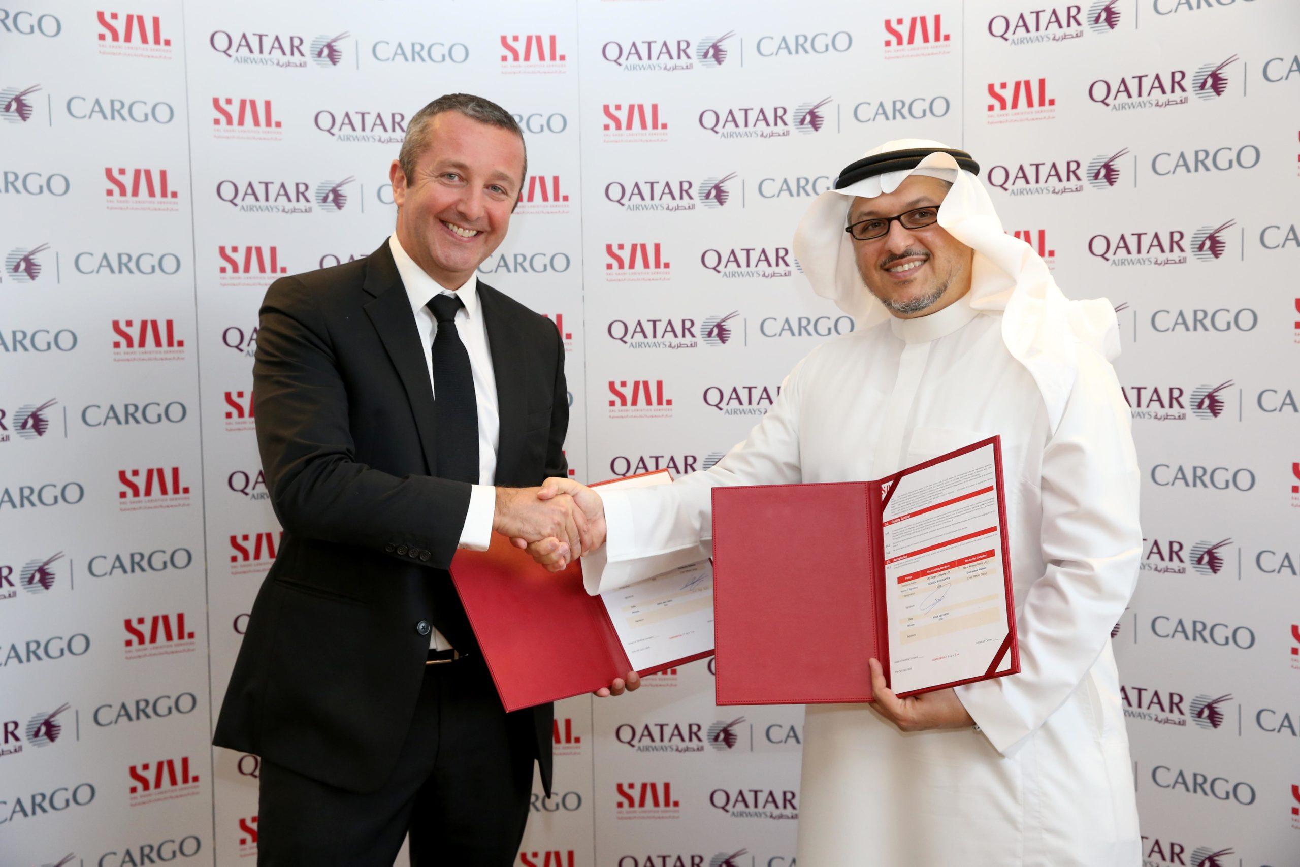 SAL signs cargo ground handling agreement with Qatar Airways Cargo